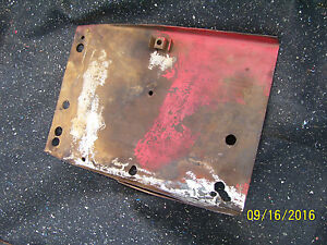 Original Massey Harris 444 Std Tractor battery Support Tray 1957