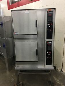 Groen Cc10 e Electric Double Stack Combi Steamer Oven Refurbished