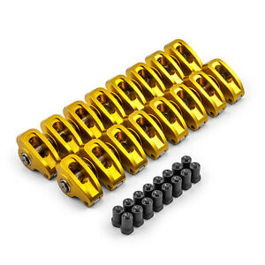 Chevy Sbc 350 1 5 Ratio 3 8 Superstreet Aluminum Roller Rocker Arm Set