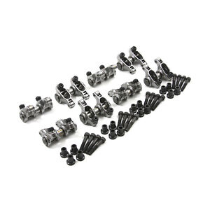 Fits Chevy Gm Ls1 Ls6 1 8 Ratio Adjustable Stainless Steel Roller Rocker Arm