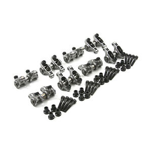 Chevy Gm Ls1 Ls6 1 8 Ratio Adjustable Stainless Steel Roller Rocker Arm Set