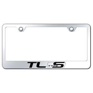 Acura Tl Type S On Mirrored License Plate Frame Officially Licensed