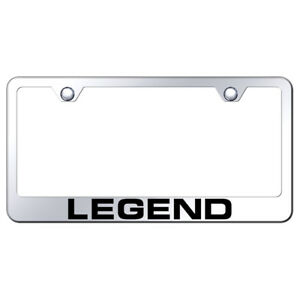 Acura Legend Laser Etched On Mirrored License Plate Frame Officially Licensed
