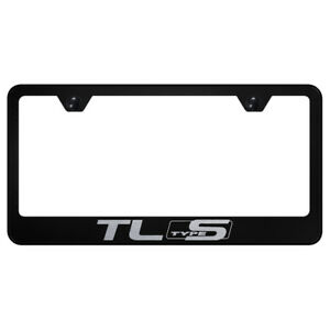 Acura Tl Type S Name On Black License Plate Frame Officially Licensed