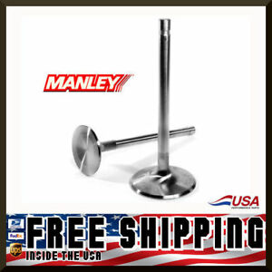 Manley Sbc Chevy 1 940 Stainless Race Flo Intake Valves 5 025 X 3415 11356 8