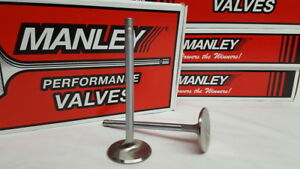 Manley Sbc Chevy 1 560 Stainless Race Flo Exhaust Valves 4 911 X 3415 11501 8
