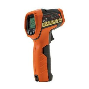 Digital Dual Laser Infrared Thermometer Backlit Data Hold Temperature Detector