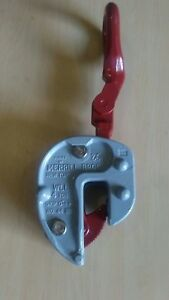 plate Lifting Clamp Merrill campbell No 44 4 Ton Grip 0 1 1 2 Inch