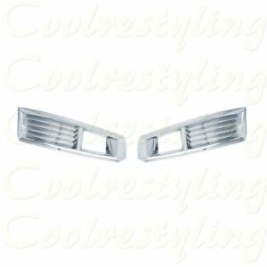 For 2008 2009 2010 2011 Cadillac Cts Front Fog Light Bezel Chrome Cover