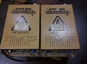 Micromass Applied Kilovolts Hp1n Electron And Multiplier Dual Power Supply Cn134