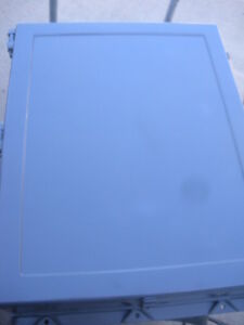 30x24x8 Hoffman Fiberglass Enclosure W Back Plate Wall Mount Hinged Door 4x