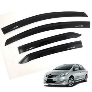 Doors Visor Windshield Wind Deflector Weather Guard For Toyota Vios 2007 11
