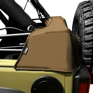 For Jeep Wrangler 1987 1991 Rugged Ridge 12105 37 Soft Top Spice Storage Boot