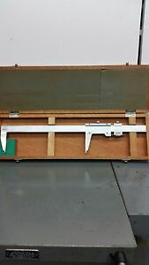 Mitutoyo 12 Od id Vernier Caliper In Excellent Condition