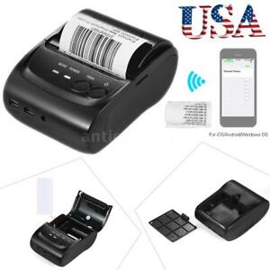 58mm Mini Bt Usb Thermal Printer Dot Receipt Ticket Pos For Ios Android Windows