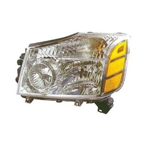For Nissan Armada 2005 2006 Replace Ni2502154v Driver Side Replacement Headlight