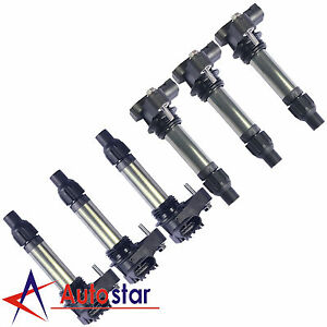Set Of 6 Ignition Coils For 08 13 V6 3 6l Lacrosse Camaro Cts Impala Terrain Srx