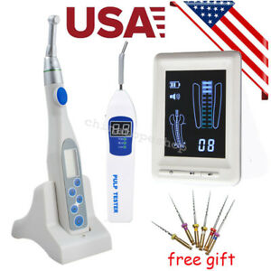 Dental Cordless Wireless Endo Motor 4 5 Apex Locator Root Canal Pulp Tester