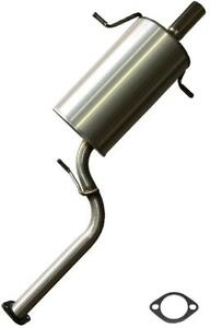 Stainless Steel Rear Muffler Fits 1998 2005 Subaru Forester 2 5l