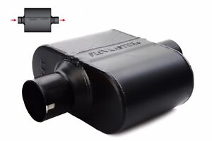 Flowmaster Super 10 Series Ss Muffler 2 5 Center Inlet outlet 842515 1 Chamber