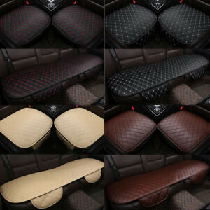 3d Universal Car Seat Cover Breathable Pu Leather Pad Mat Cushion Auto Chair New