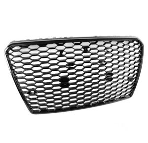 Honeycomb Sport Mesh Rs7 Style Hex Grille Grill Black For 12 15 Audi A7 S7 C7