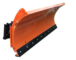 108 Snow Blade W trip Moldboard Skid Steer Loader Bobcat Gehl Deere Attachment