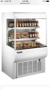 Mb Master bilt Qmvm 48 Refrigeration Merchandiser Display retails For 4349