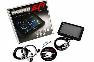 Holley Efi Fuel Injection 7 Digital Programmer Dash Touch Screen 553 106