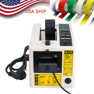 Electric Automatic Tape Dispensers Adhesive Tape Cutter Packaging Led Display Us
