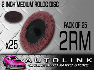 Roloc Disc 2 51mm Medium Quickly Remove Gasket Materials Oxidation