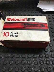 Motorcraft Ford Awsf54c Spark Plugs Qty 10 Nos Free Shipping