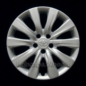 Toyota Corolla 2011 2013 Hubcap Genuine Factory Oem 61159 Wheel Cover