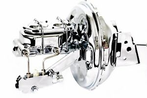 70 81 Chevy Camaro Chrome 11 Booster W Master Cylinder Proportioning Valve