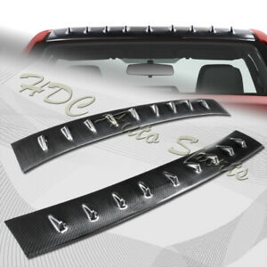 For 2013 2017 Toyota Corolla Sedan Carbon Style Shark Fin Rear Roof Spoiler Wing
