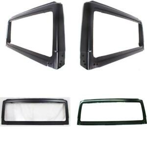 Ch1280108 Windshield Frame For 98 02 Jeep Wrangler