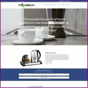 Kitchen Appliance Website Business For Sale earn 2 366 40 A Sale free Domain