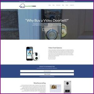 Video Doorbell Website Business For Sale earn 85 36 A Sale free Domain hosting