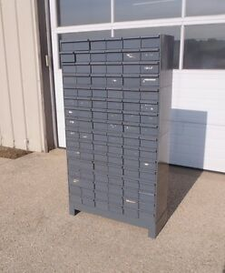 Durham 96 drawer Industrial Storage Cabinet 4 Stackable 24 Drawer And Base