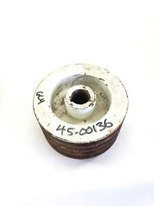 Used Unbranded 45 00136 6c4 42mm Bore 4 Grove Pulley Fast Ship b398