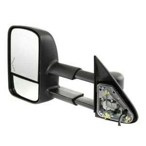New Left Side Heated Towing Mirror W Glass Signal For Gmc Sierra Truck 03 2007