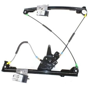 Vw1351107 Window Regulator For 95 02 Volkswagen Cabrio Front Passenger Side