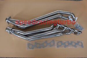 For 11 16 Ford Mustang Gt 5 0 v8 Exhaust Manifold Long Tube Header gaskets bolts
