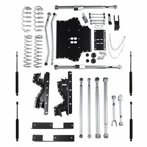 Rubicon Express Jeep Wrangler Tj Long Arm Extreme Duty Re Twin Tube Shocks Re721