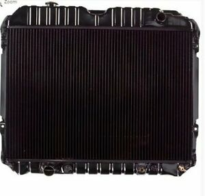 Radiator For 1291 75 91 Ford Econoline 7 5l Brasstankbrasscor 4 row W sensorhole