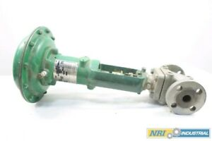 Fisher Ez 667 Iron Flanged Pneumatic Control Valve 1 In 250