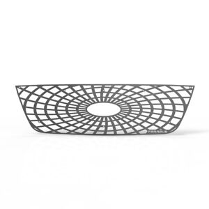 Grille Insert Guard Spiderweb Brushed Stainless Fits 01 03 Ford Ranger Hc
