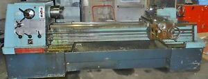 Clausing Colchester 17 X 80 Gap Bed Engine Lathe