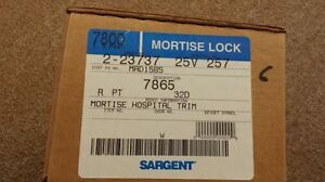 Sargent 7865 commercial mortise locks