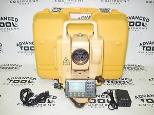 South Nts 355r Total Station Dual Display Transit W Charger Battery And Case